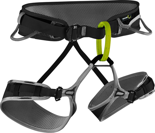 Edelrid Klettergurt Jay Test : Edelrid zack harness night pebbles campz